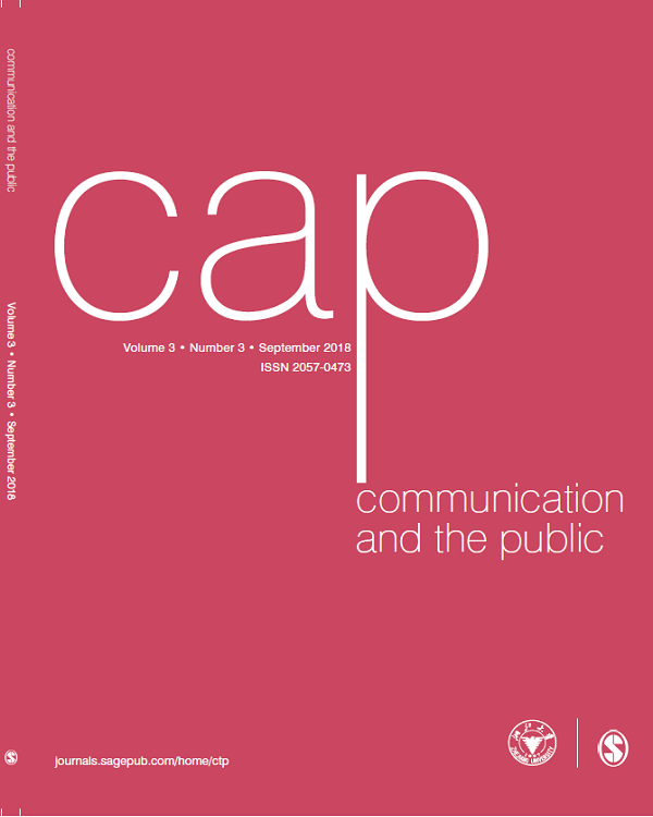 Communication and the Public September Issue Published
